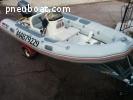 semi rigide 4m50 Valiant + Moteur 40cv + remorque Saellite