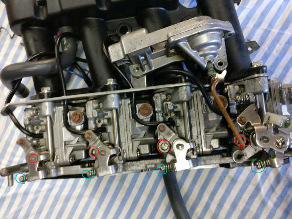 synchro et vis carburateur yamaha f50aet 2001