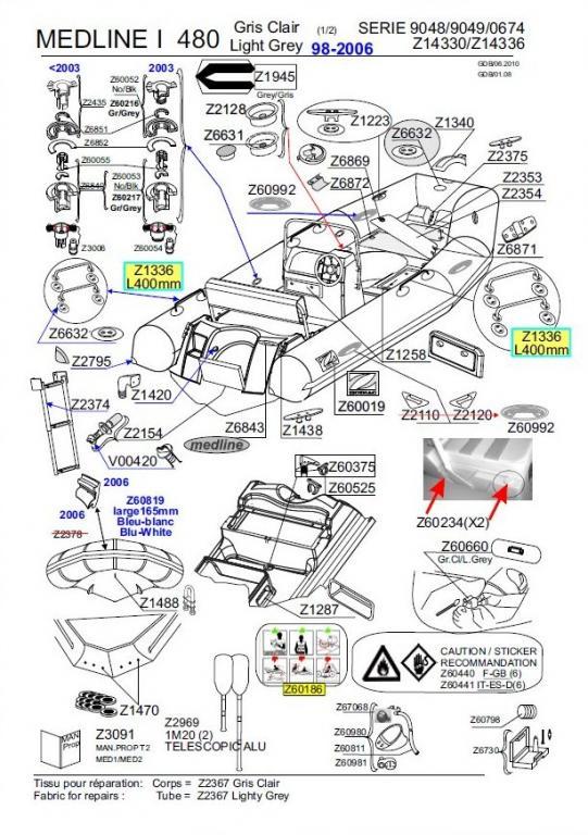 les forums zodiac medline i 2003 fuite des valves de gonflage 1 1. Black Bedroom Furniture Sets. Home Design Ideas